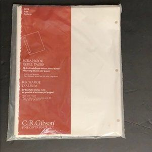 Scrapbook Refill Pages K026 30 Archival Grade NEW